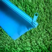 กระเป๋าผ้าทรงซิปแบน